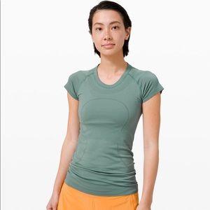 Lululemon Swiftly Green Top